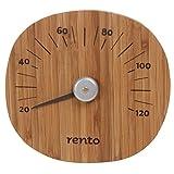 Rento Bambusthermometer für Sauna