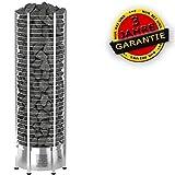 Sawo Elektrische Saunaöfen Tower Round Th9-12.0 kW, Steuergerät: mit Leistungsteil, ohne Steurgerät
