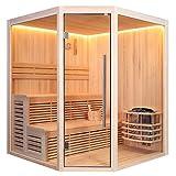 AWT Sauna E1801A Pinienholz/180x180/8kW Vega