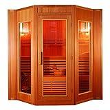 XXL Luxus Finnische Sauna SET Sauna inkl. Harvia Saunaofen Modell 2021 für 4 Pers. inkl Spedition