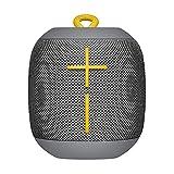 Ultimate Ears Wonderboom Tragbarer Bluetooth-Lautsprecher, Überraschend Starker Sound, Wasserdicht, Verbinde 2 Lautsprecher für Lautstarken Hi-Fi Sound, 10-Stunden Akkulaufzeit - grey/grau