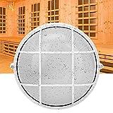 Licht für Hochtemperatur - Sauna Lampe Explosionsgeschützte Anti Feuchtigkeits Proof Runde Lampen Zubehör for E27 Gewinde Zimmer