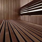 Sauna-Licht Indirekt profiTUBE, bis 125°C, LED Warm-Weiss 2700K, Wasserfest IP44 (1 x 103cm, Dimmbar)